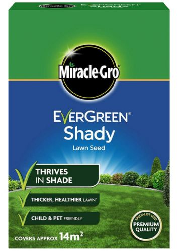 EverGreen Shady Lawn Grass Seed 14 sq m Carton